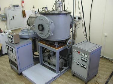 The source of the ion beam